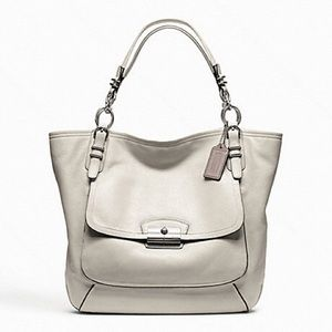 Coach Kristen Pinnacle Leather Tote